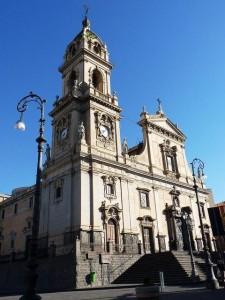 La basilica Maria Santissima dell'Elemosina, nella quale avrebbero dovuto celebrarsi i tre matrimoni