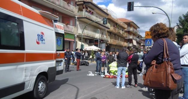 Incidente Alessandro Calvagno in viale dei Fiori