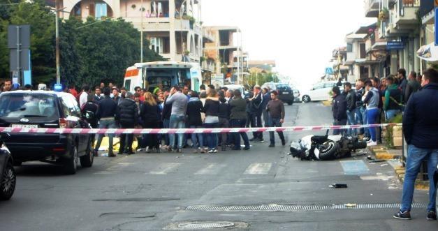 Incidente Alessandro Calvagno in viale dei Fiori 2