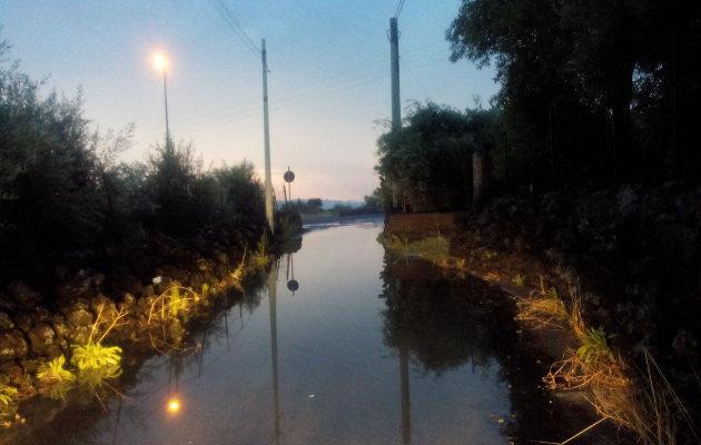 strada-allagata-vicino-circonvallazione-nord