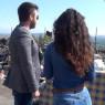 In giro a Biancavilla con l'amica milanese e l'amara ironia di Yvii Tv
