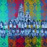 Le confraternite di Biancavilla diventano pop art da calendario