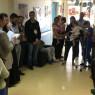 Il Circolo San Placido in visita ai reparti dell'ospedale di Biancavilla