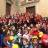 Panchina rossa in piazza Collegiata <br>I Centri antiviolenza: «È retorica»