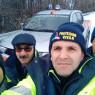 Neve in territorio di Biancavilla, volontari della Pcb ad alte quote