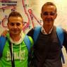 Nicola Milazzo e Antonio Di Mauro, da Biancavilla alla maratona di Roma