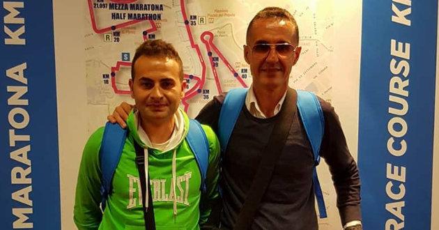 antonio-di-mauro-e-nicola-milazzo-maratona-roma