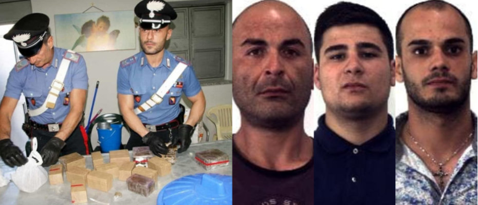 arresti-droga-palermo-giuseppe-aiello-diego-aiello-antonino-rindone