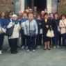 I membri del Gruppo San Pasquale in gemellaggio con le Suore Veroniche