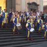 Festa e celebrazioni per Sant'Antonio con sbandieratori e fuochi pirotecnici