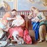 La natività della Beata Vergine Maria, nuova opera nella chiesa Annunziata