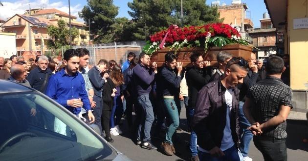 Funerali di Alessandro Calvagno